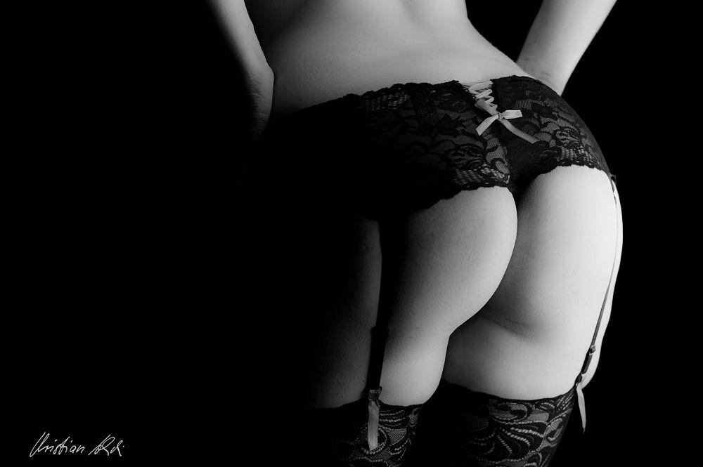 Photo in Nude #nude #akt #black&white #beauty #women #body
