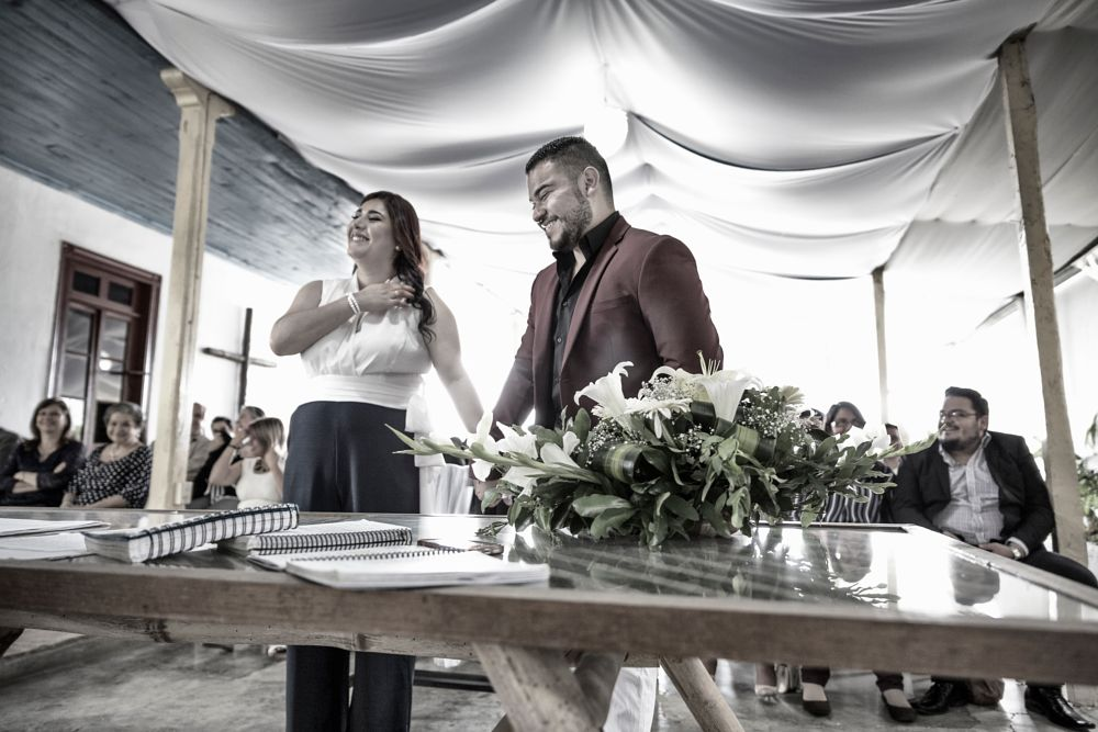Photo in Wedding #wedding #love #couple #smiles #smile #happy #weddingday #inspiration #planning #bridge #groom