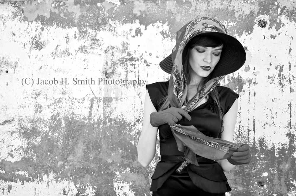 Photo in Fashion #beauty #life #city #model #fashion #love #black and white #black #white #nikon