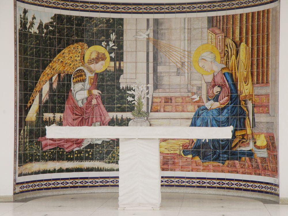 Photo in Architecture #altar #angeles #iglesia #templo