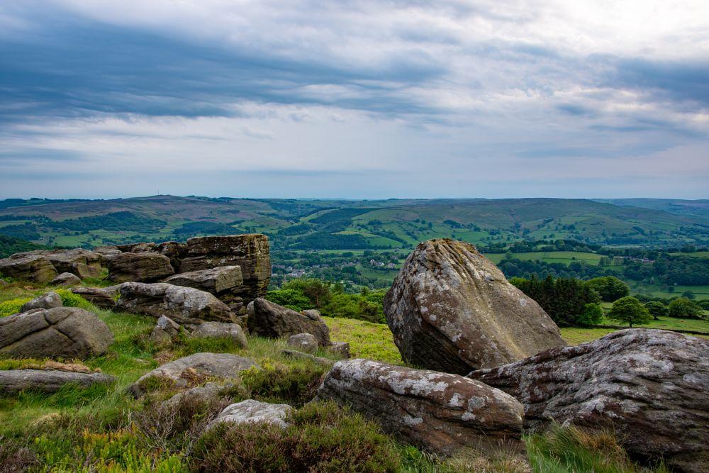 Photo in Landscape #landscape #peak district #hills #valleys
