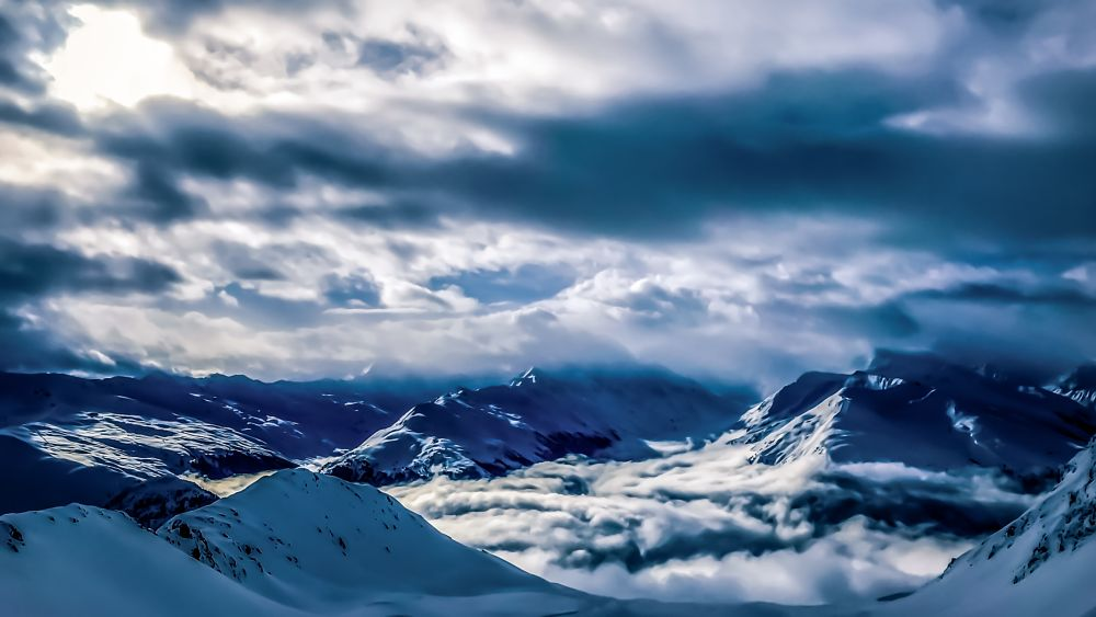 Photo in Landscape #mountains #mountain #landscapes #landscape #clouds #cloud #cloudy #nature #natural #snow #white #cold #view #beautiful