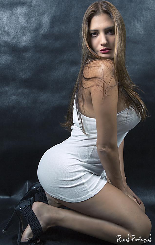 Photo in Fashion #dress #white #sexy #sensual #beauty