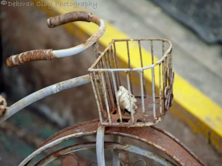 Photo in Still Life #toy #bike. #bicycle #rusty #abandoned #miniature