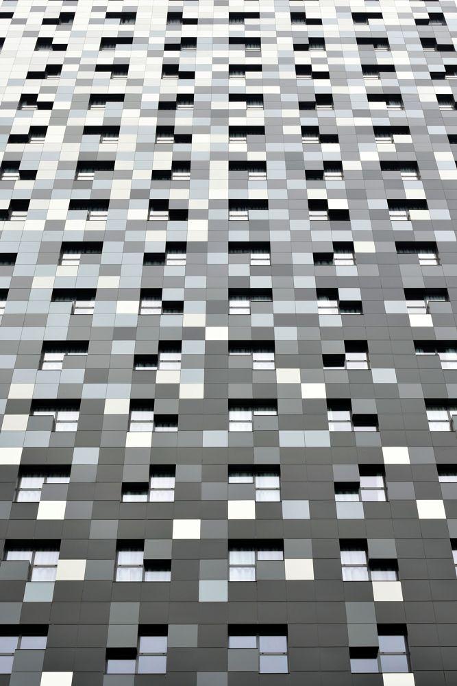 Photo in Architecture #architecture #building #windows #tiles #hotel