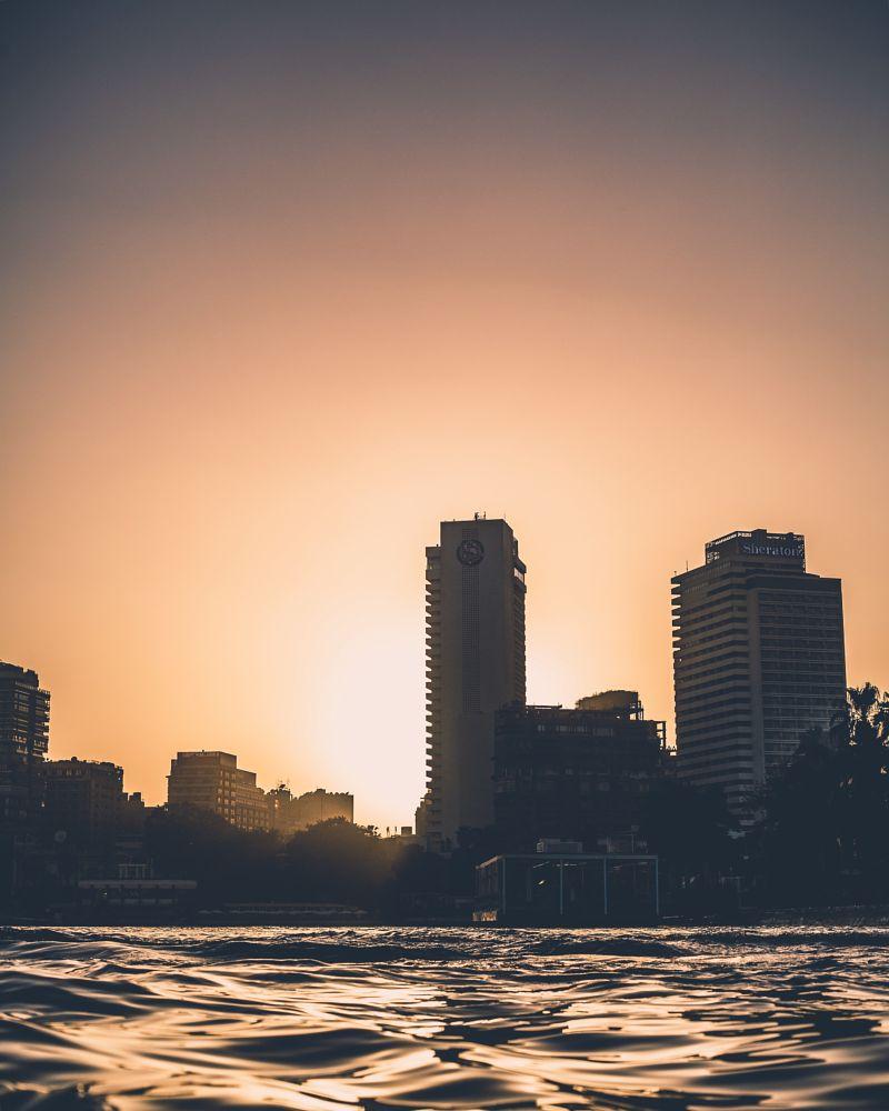 Photo in Cityscape #cairo #egypt #sunset