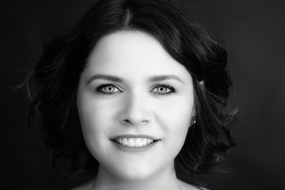 Photo in Portrait #portrait #black #white #nikon #woman #beauty #ringlight