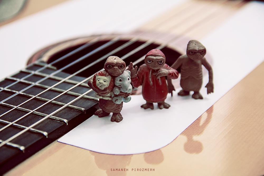 Photo in Still Life #guitar #doll