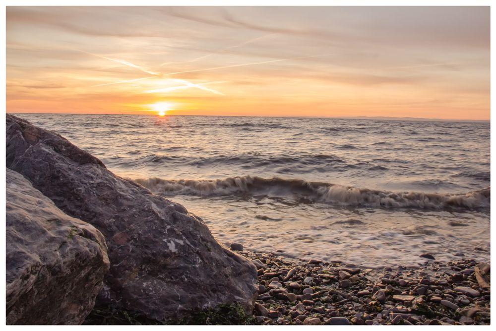 Photo in Random #sunset #sun #water #sea #photography #photographer #love #landscape #uk photographer #uk photography