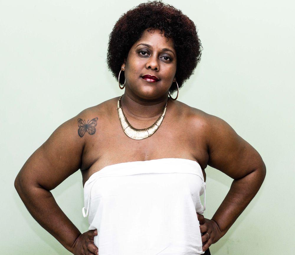 Photo in Black and White #pretty #blackwoman #bw #portrait #black #afro
