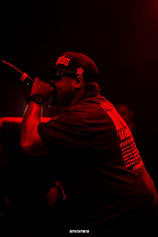 Photo in Celebrities #red #tones #compton #rap #concert