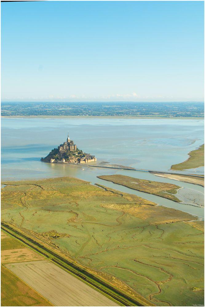 Photo in Aerial #landscape #normandie #aerial