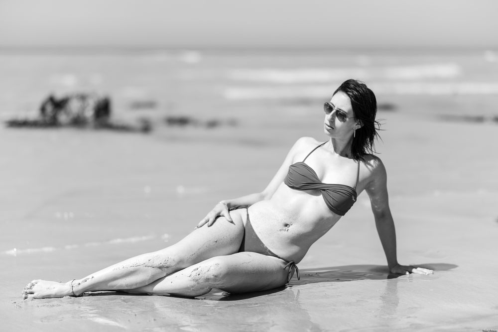 Photo in Fashion #woman #beach #sun #natural light #outdoor #glasses