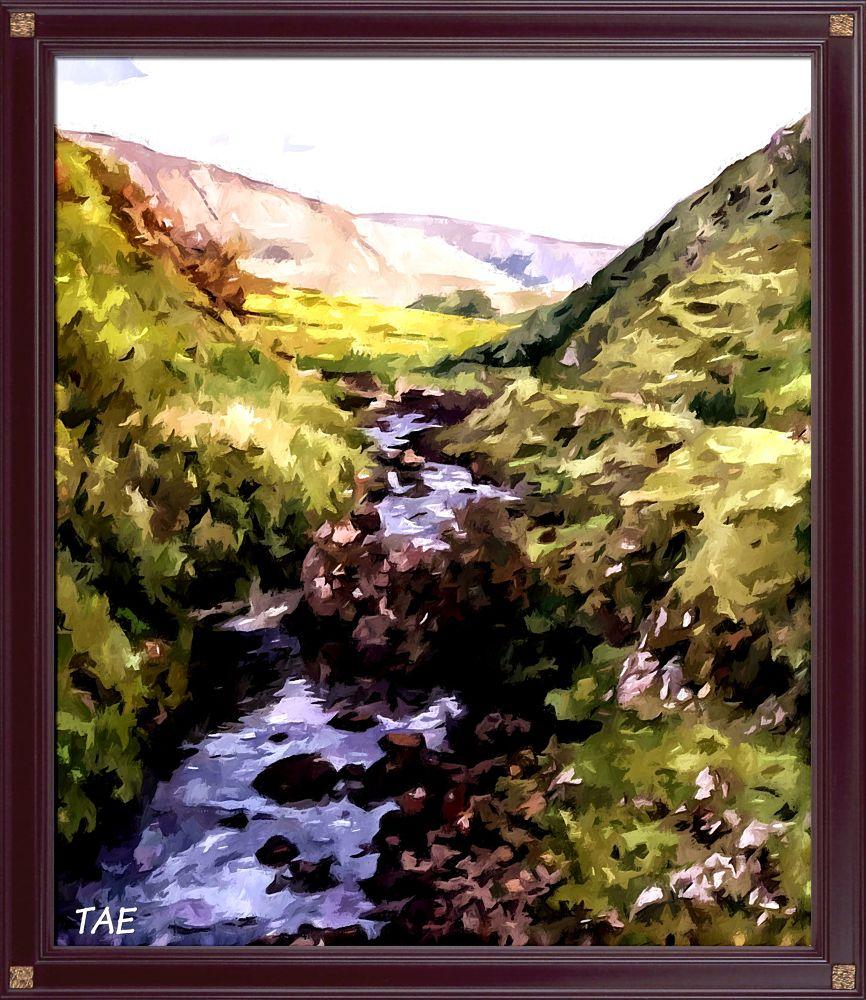 Photo in Random #art #oil #painting #island #river #digital #scotland #fine #canvas #skye #isle