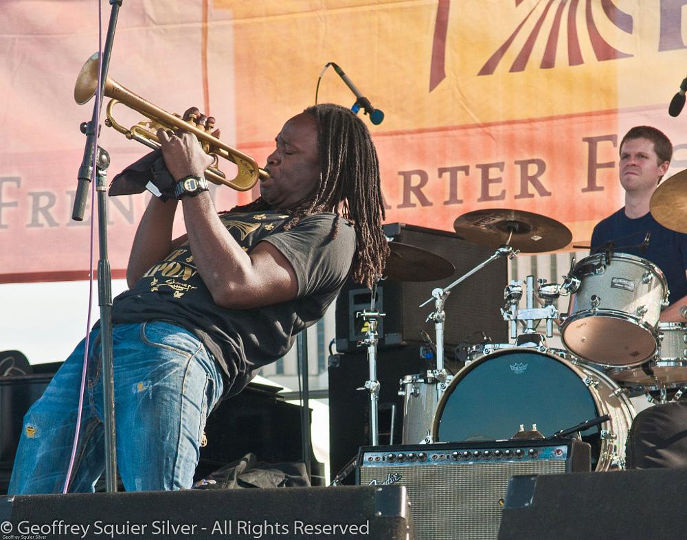 Photo in Concert #horn #musician #jazz fest #performer