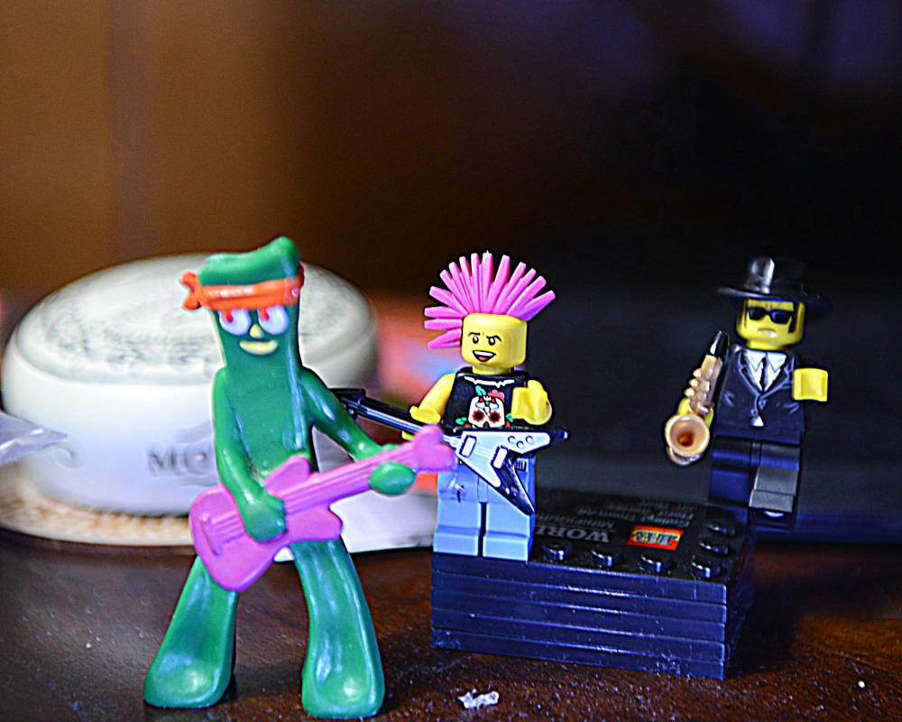 Photo in Still Life #gumby #jas hard rock '60 rock #come together