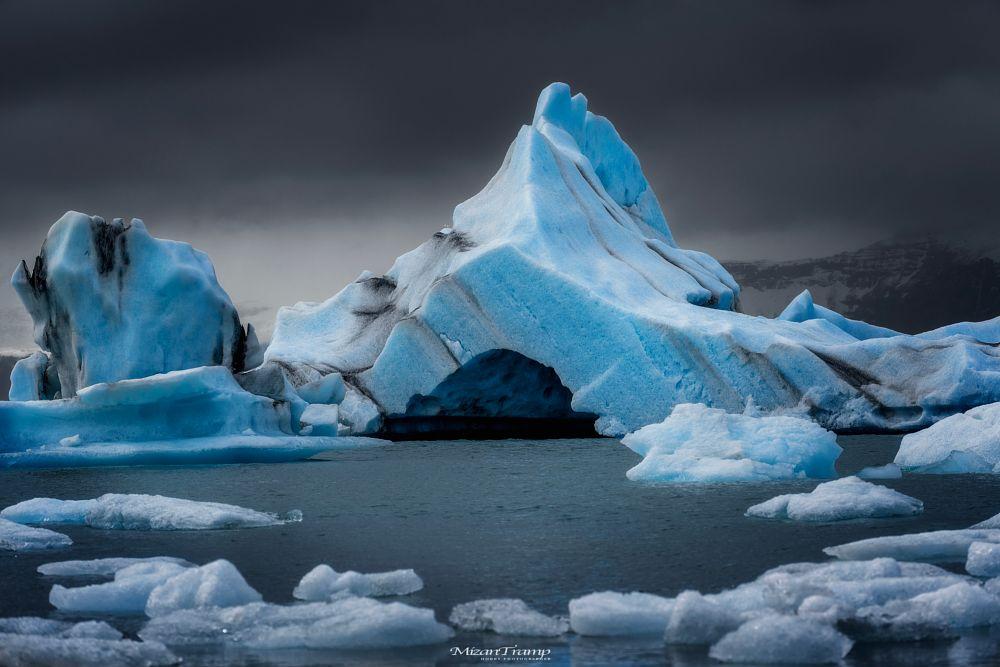 Photo in Nature #iceland #jokulsarlon #glacier #lagoon #ice #landscape #natur #drama