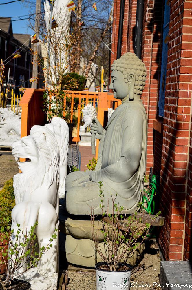 Photo in Random #temple #spring #statue