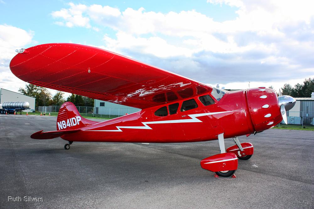 Photo in Vehicle #cessna #plane #red #classic #vintage #runway