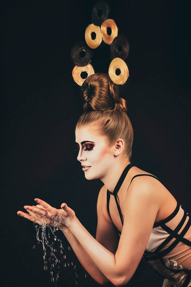 Photo in Fashion #water #girl #sexy #fashion #studio #beauty #hairstyle