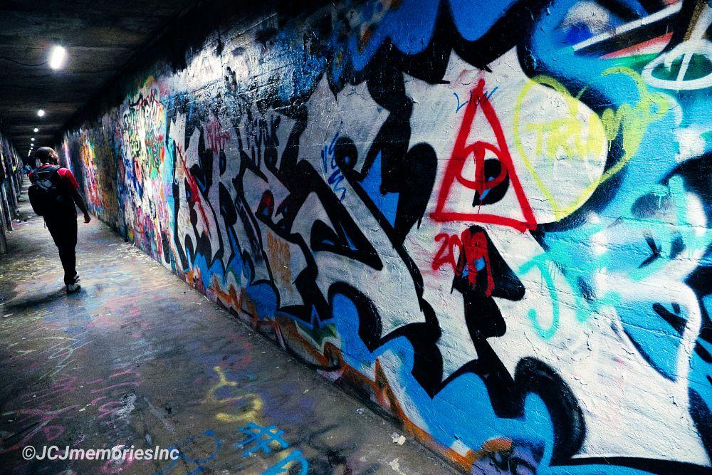 Photo in Random #krog st #atlanta #georgia #graffiti #culture #tagging #downtown #tunnels
