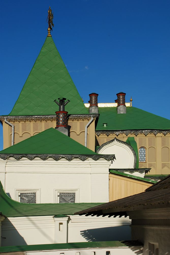 Old roofs of Moscow