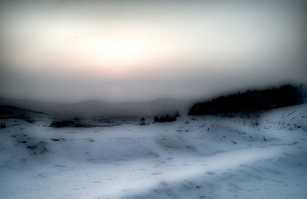 Morning. Siberia.