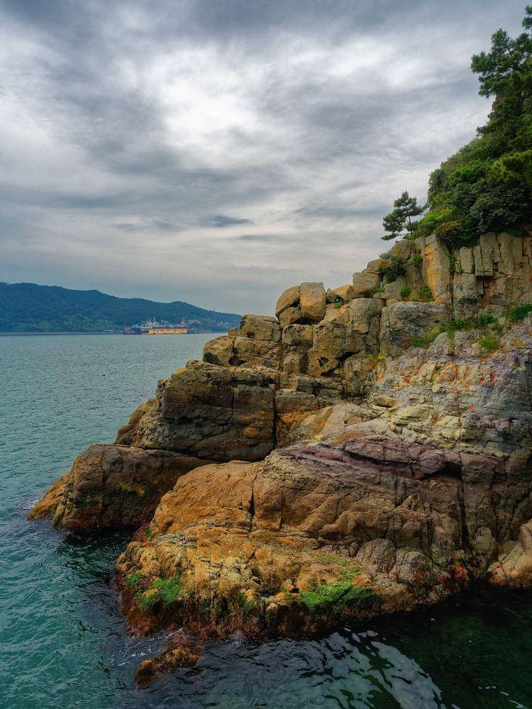 Photo in Random #clouds #sea #ocean #coast #rocks #trees