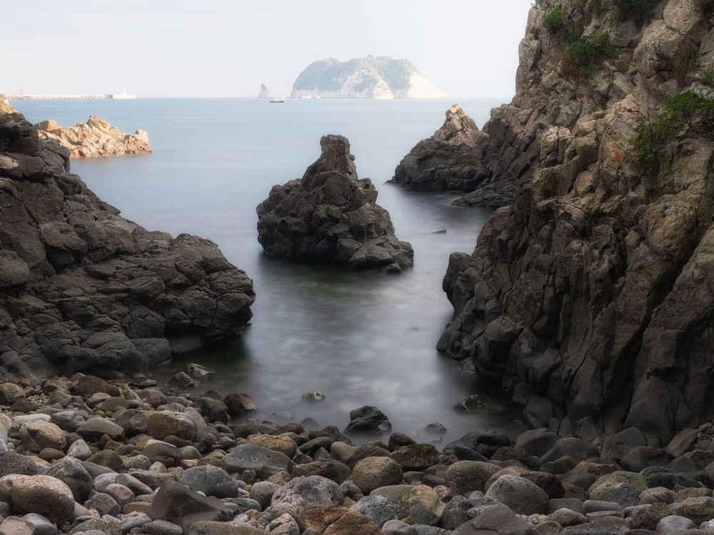 Photo in Random #rocks #shore #coast #sea #ocean #island
