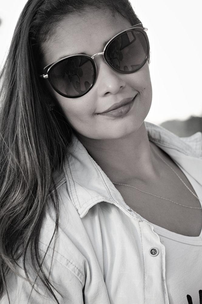 Photo in Portrait #portrait #people #baw #50mm #woman