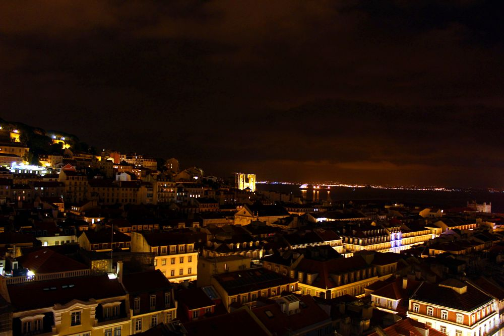 Photo in Travel #travel #europe #lisbon #portugal #nightview #longexposure #photography #canon #t6 #maioli #pic #shot #18mm