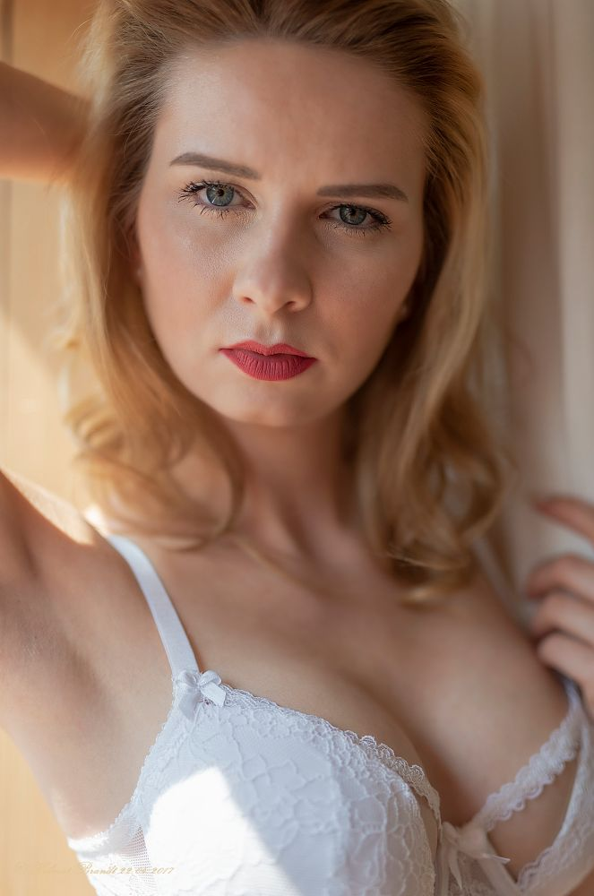 Photo in Nude #nude #sexy #lingerie #portrait #akt #desoous #frau #woman