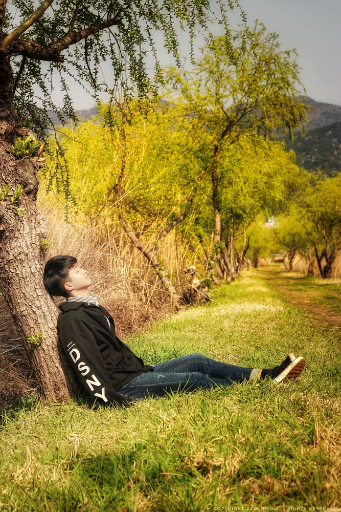 Photo in People #charactor photo #spring