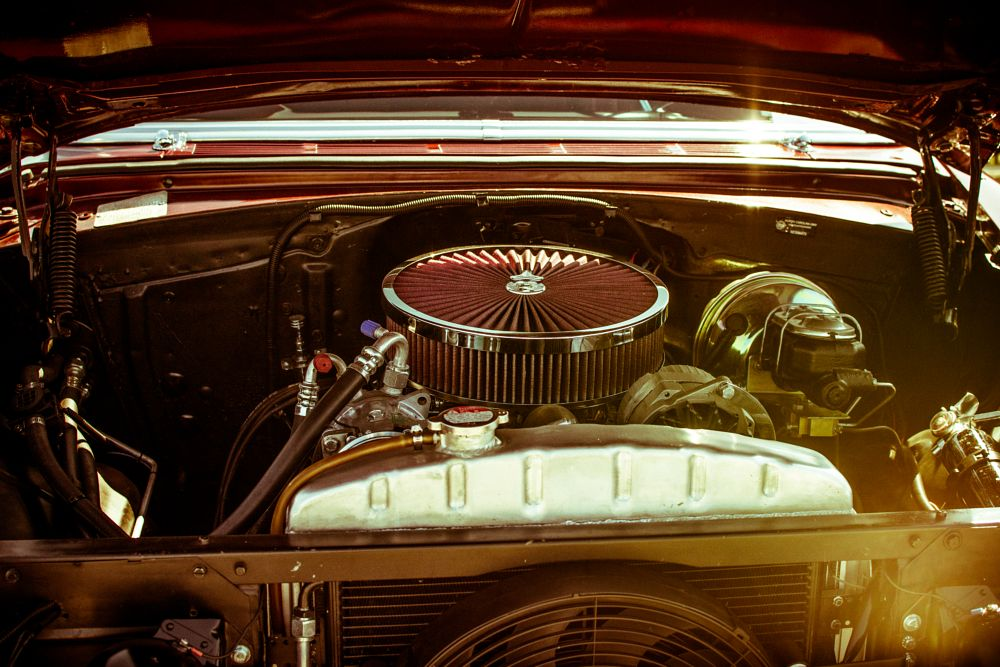 Photo in Vehicle #chevrolet #bel air #'55 bel air #nikon d7200 #classsic #muscle car #vintage #original muscle
