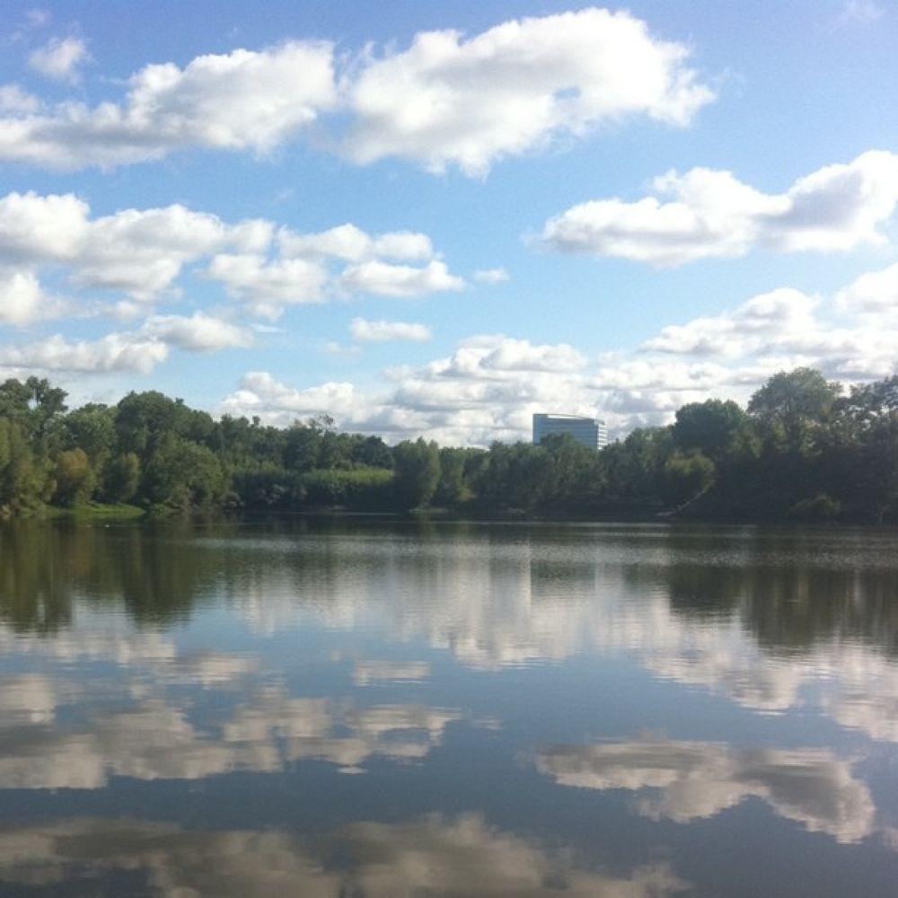 Photo in Random #youpic #river #clouds #reflection #sacramento
