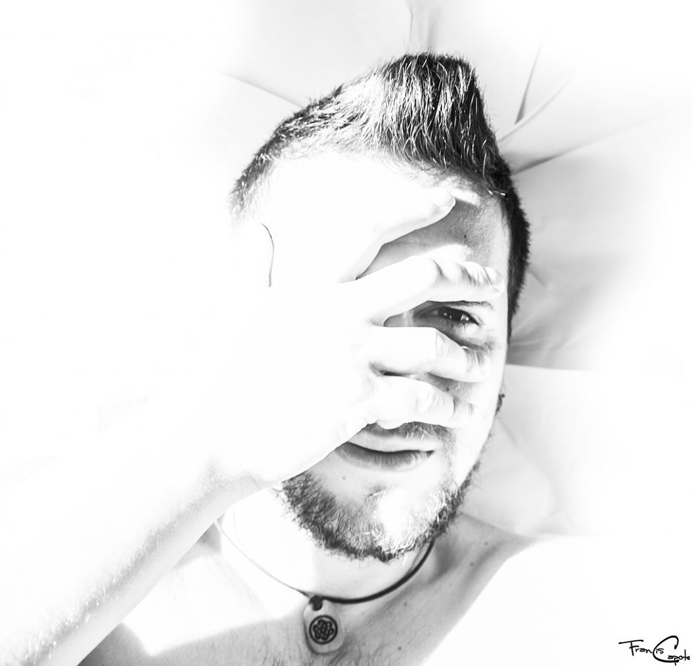 Photo in Portrait #a #self-portrait #of #me #with #lots #light #photography