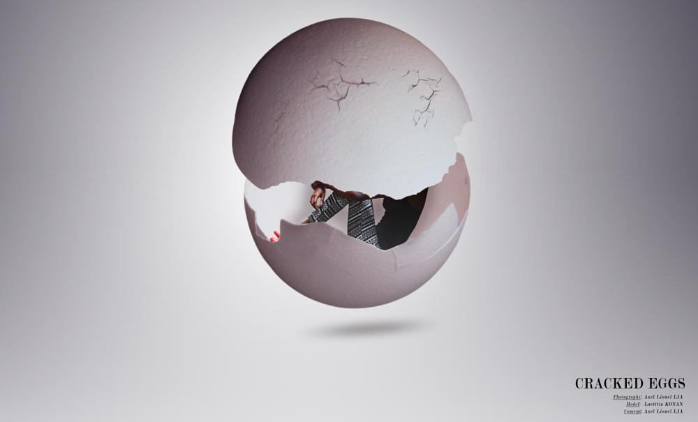 Photo in Fine Art #rebirth #cracked_eggs #axelius #theperfectionist #axeliuspics #africa #abidjan #bassam