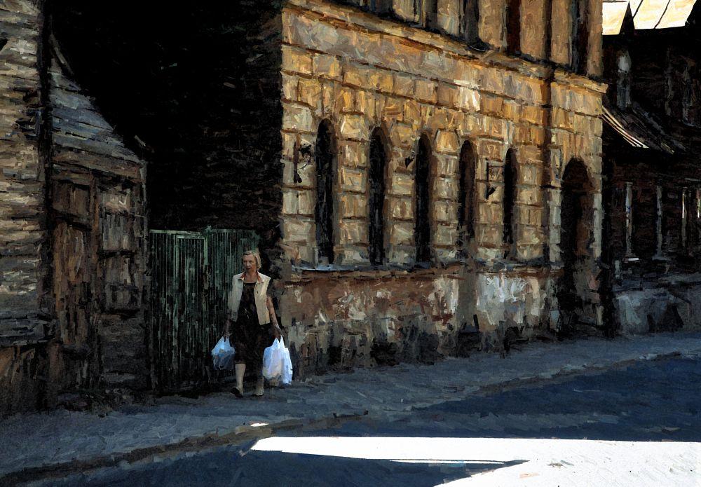Photo in Fine Art #city #street #old #outskirts #art #digital