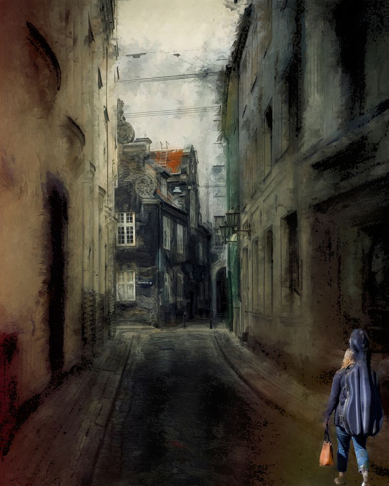 Photo in Fine Art #city #old #art #mysterious