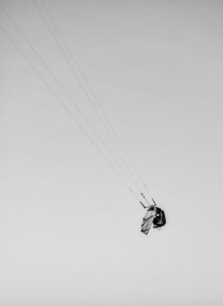 Photo in People #art #concept #kite #sea #wind #kiteboard