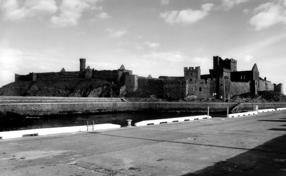 Photo in Black and White #isle of man