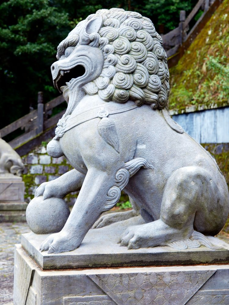Photo in Architecture #lion #chinese #sculpture #taiwan