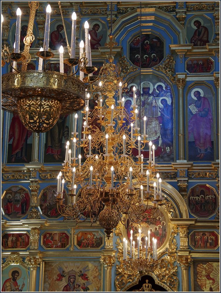 Photo in Interior #russia #istra #church #cathedral #new jerusalem monastery