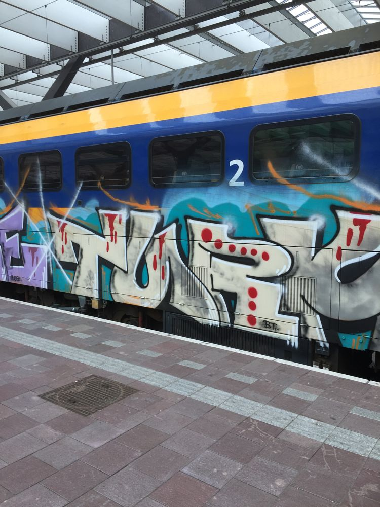 Photo in Random #graffiti #railway