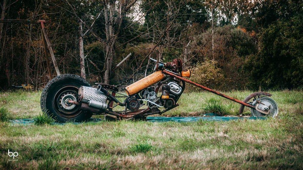 Photo in Abstract #chopper #bike #motorbike #moto #motif #broken