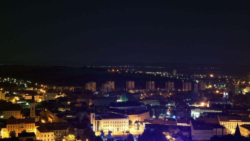 Photo in Cityscape #city #night #colour