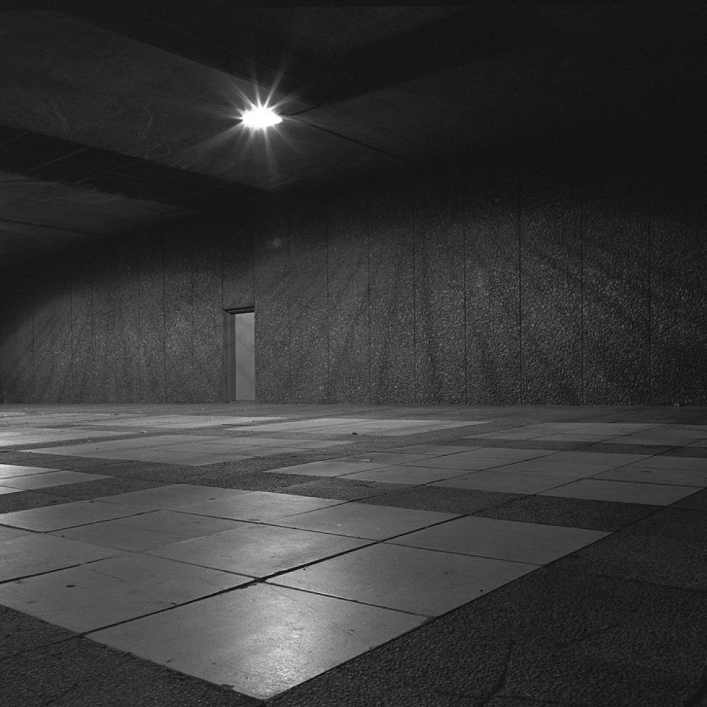 Photo in Black and White #adelaide #black and white #hidden door #road under pass #trix 400 #iso 200 #night time photography