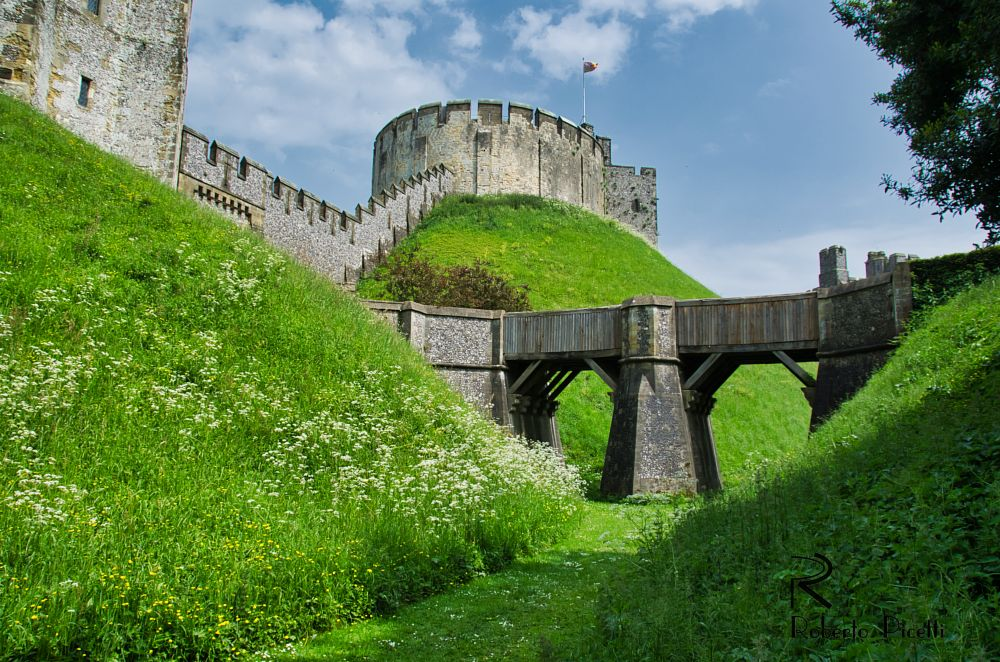 Photo in Architecture #castle #uk #fortification #architecture #medieval