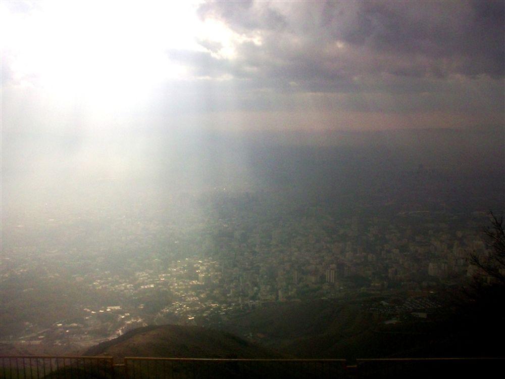 Photo in Random #and #white #black #(tehran's #sky)