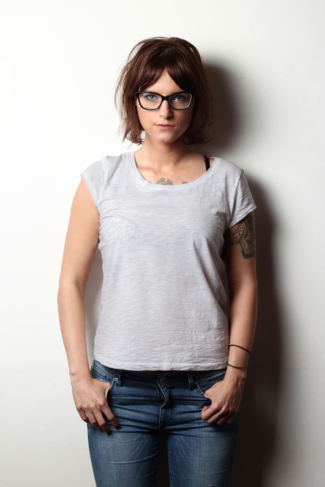 Photo in Portrait #glasses #inked #tattoo #inkedwoman #sweetie